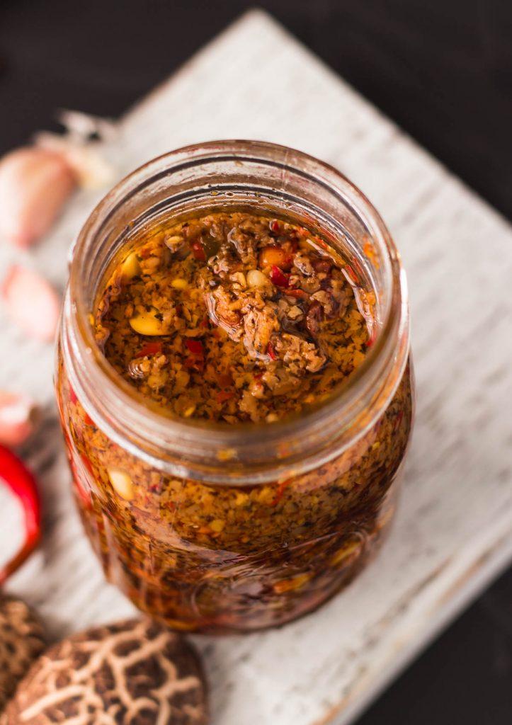 Shiitake Mushroom Chili Sauce
