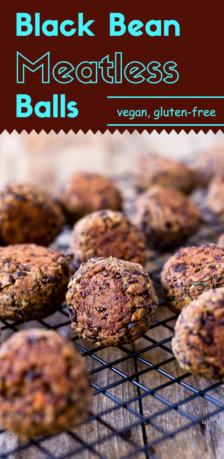 Black Bean Meatless Balls