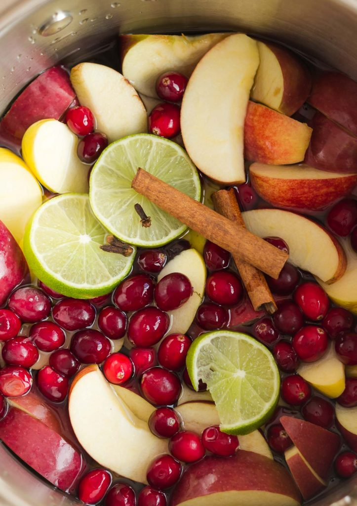 pressure cooker cranberry apple cider