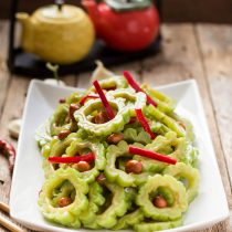 Chinese Bitter Melon Salad