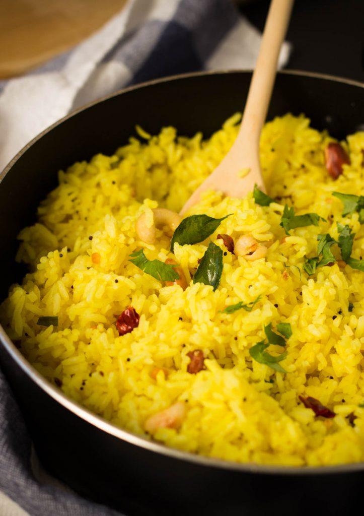 south India lemon rice