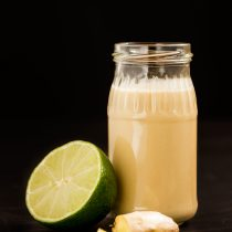 Ginger Lime Tahini Dressing