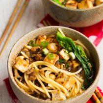 Sichuan Style Gluten-free Dan Dan Spaghetti