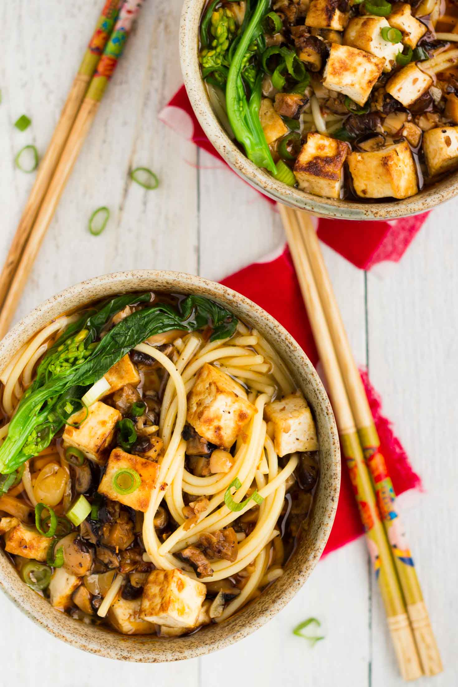 Sichuan Style Gluten-free Dan Dan Spaghetti (Vegan)