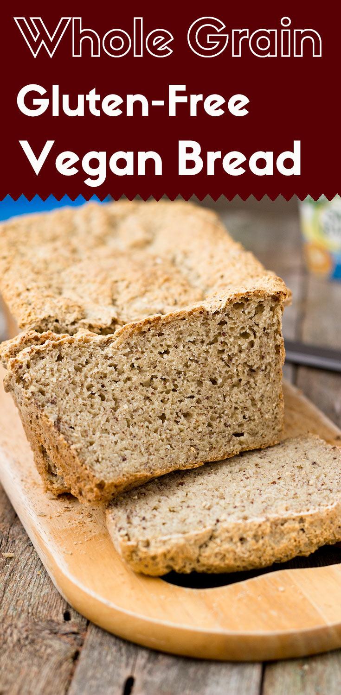 Whole Grain Gluten-Free Vegan Bread | Light Orange Bean