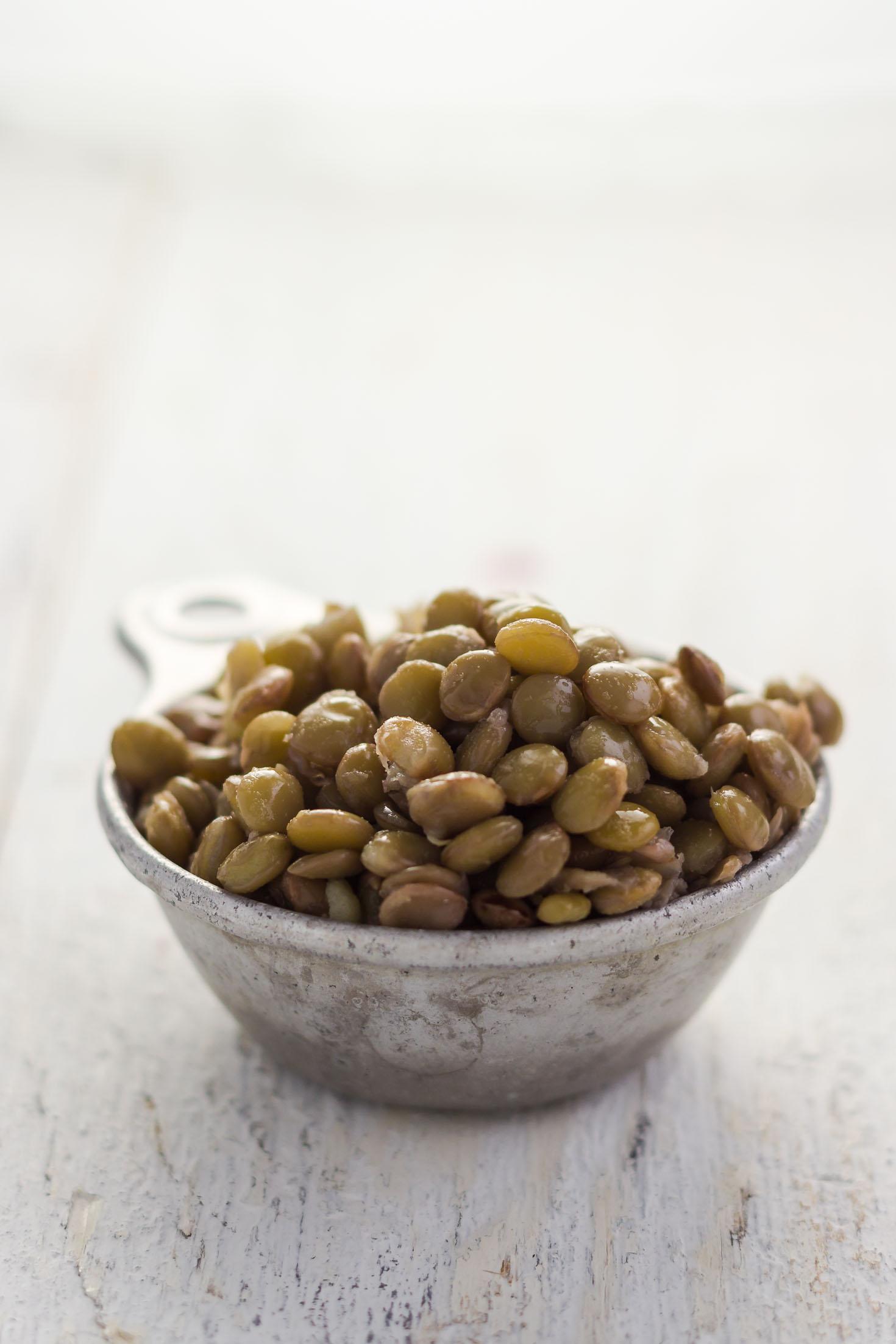 Lime Tahini Quinoa Lentil Buddha Bowl (vegan, gluten-free)