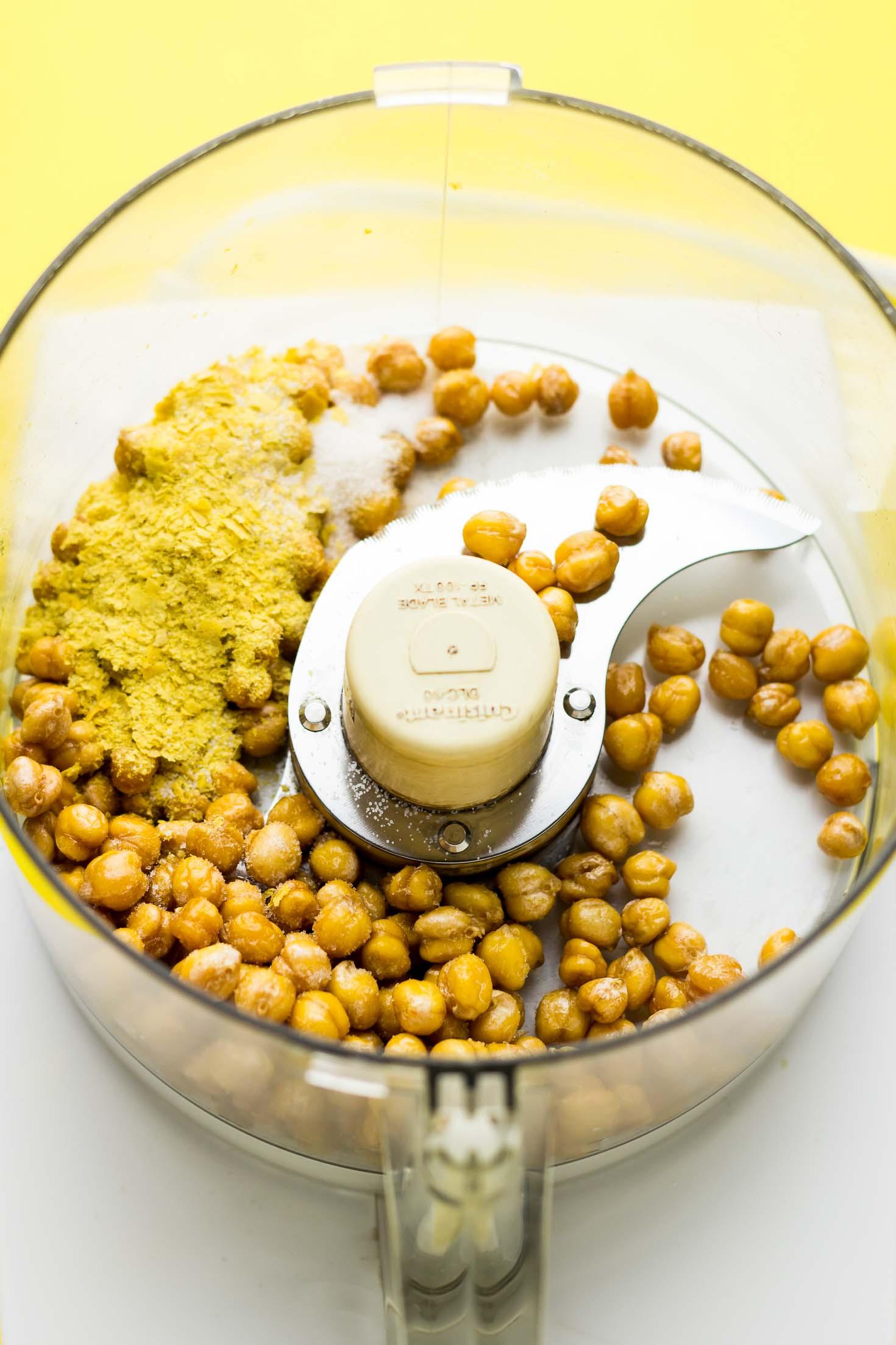 Nut-Free Vegan Parmesan Cheese