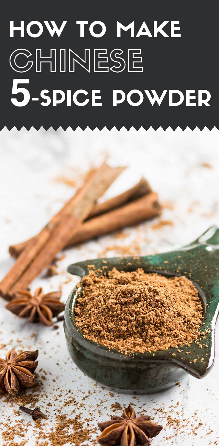 Chinese 5-spice powder-side view