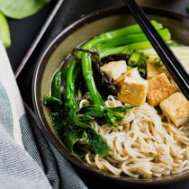 One-Pot Miso Tofu Gluten-free Ramen-small square image