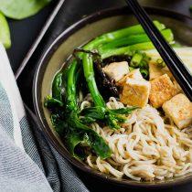 One-Pot Miso Tofu Gluten-free Ramen-small square image